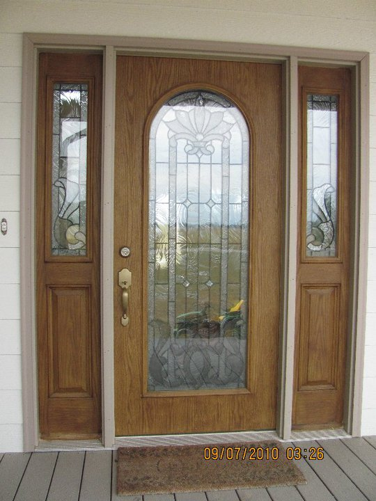 Three panel front door & Three panel front door | Handyman Services Indianapolis