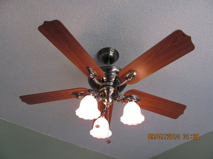 Ceiling Fan Installation Light