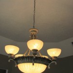 Ceiling Light installed by Handyman Services Indianapolis