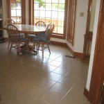 Tile Dining Room Floor